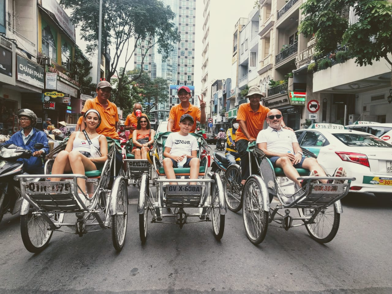 cyclo tour